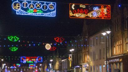 Dunbar Christmas Lights 1